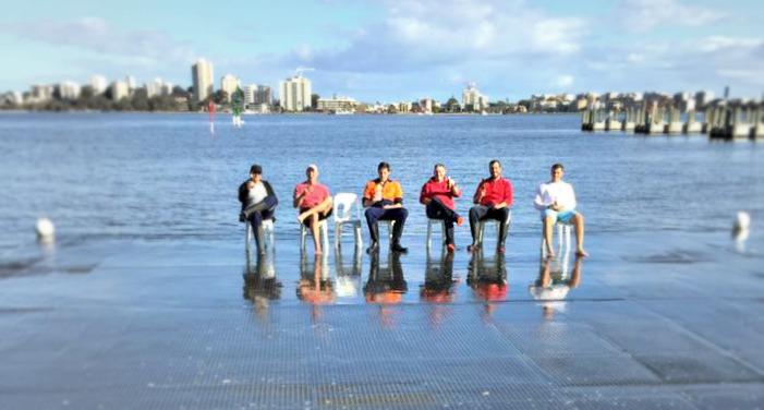 The deck crew