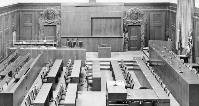 GLOBALE: Tribunal – A Trial Against the Transgressions of the 20th Century , ZKM, press releases, 2015   Translation
