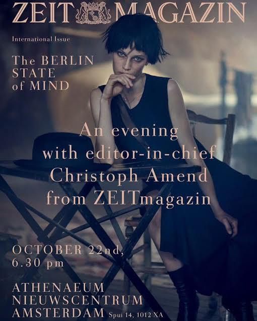 The Berlin State of Mind , Die Zeit, Fall/Winter 2015   Translation