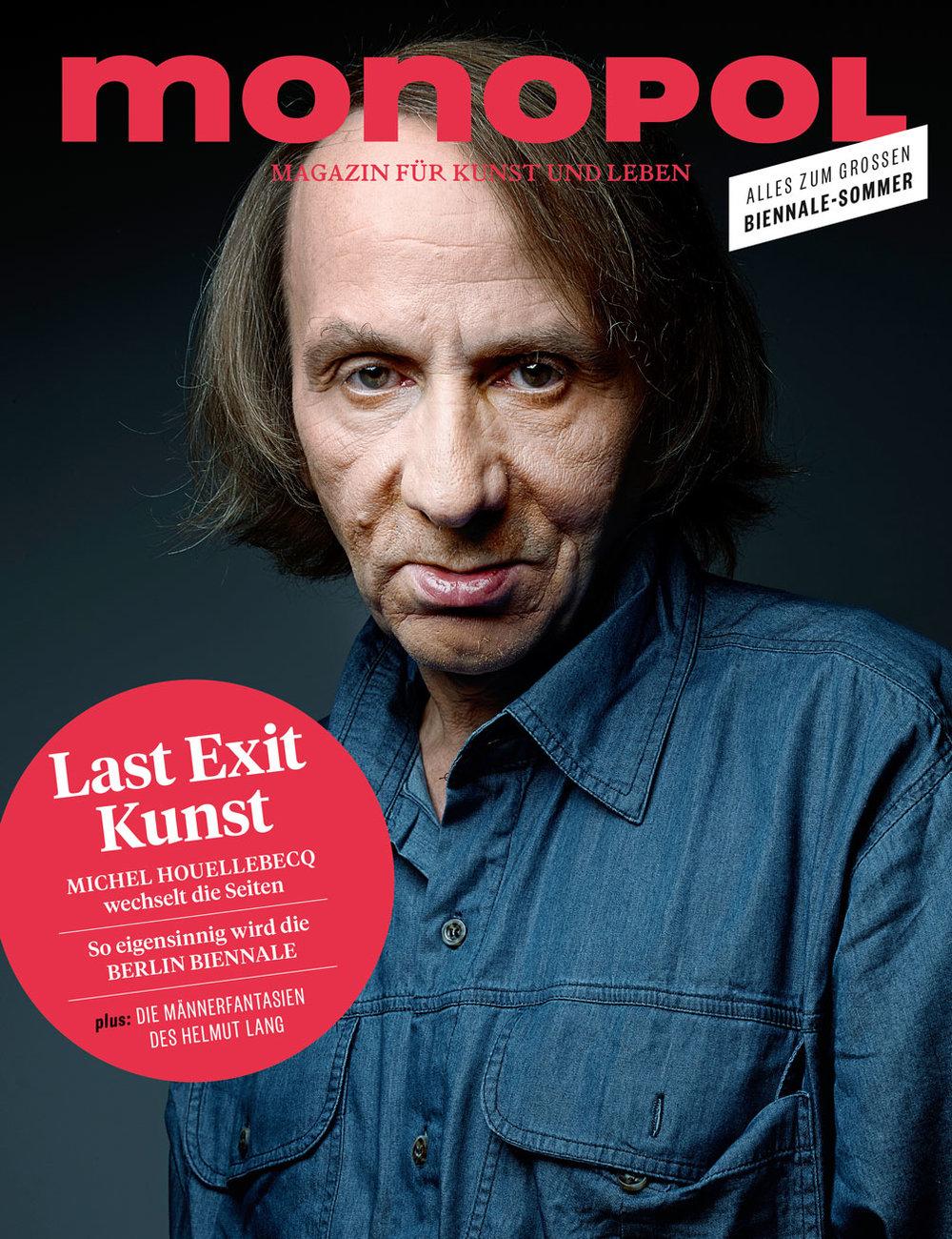 Monopol Magazin , Art Basel supplement, June 2016   Editing