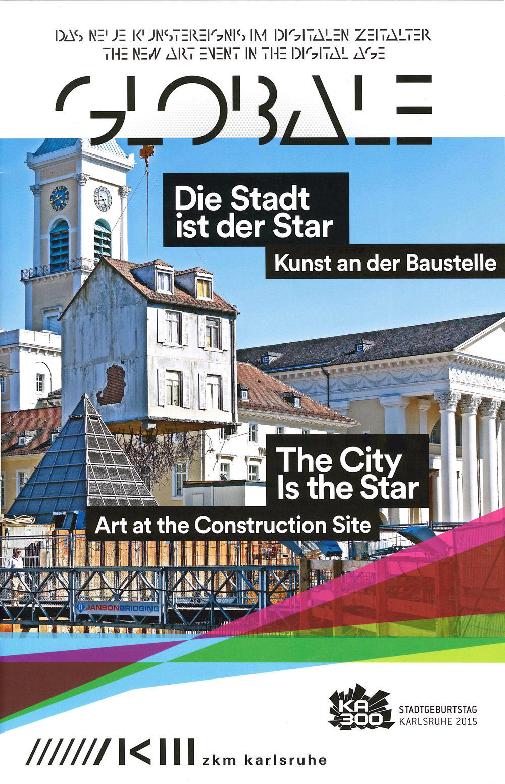 The City is the Star , ZKM, exhibition brochure, 2015   Editing