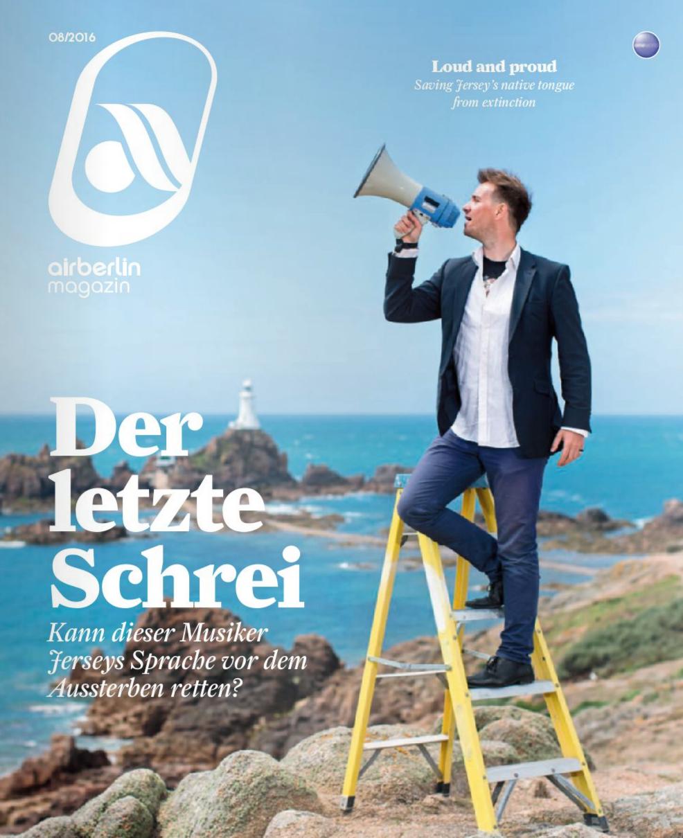Airberlin Magazin,  August 2016   Translation