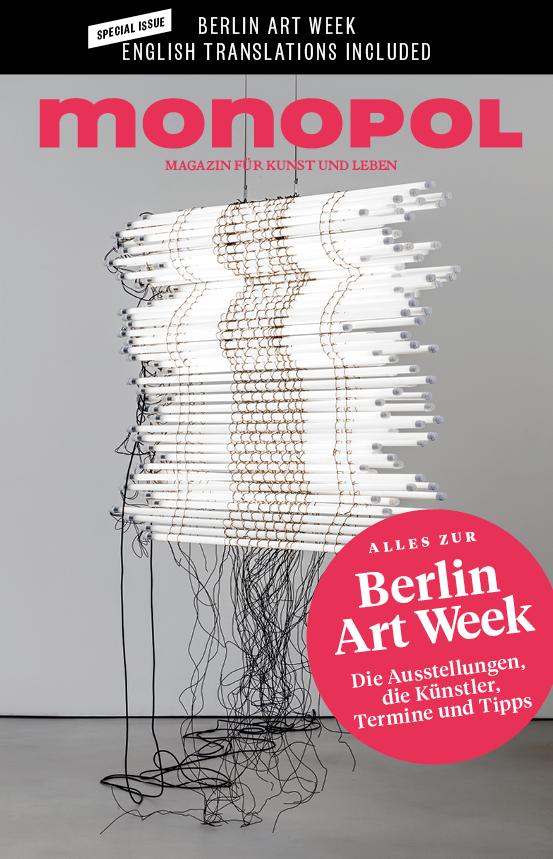 Monopol Magazin, Berlin Art Week supplement, 2017   Translation