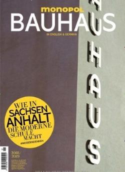 Monopol Magazin , Bauhaus special issue, 2018   Translation