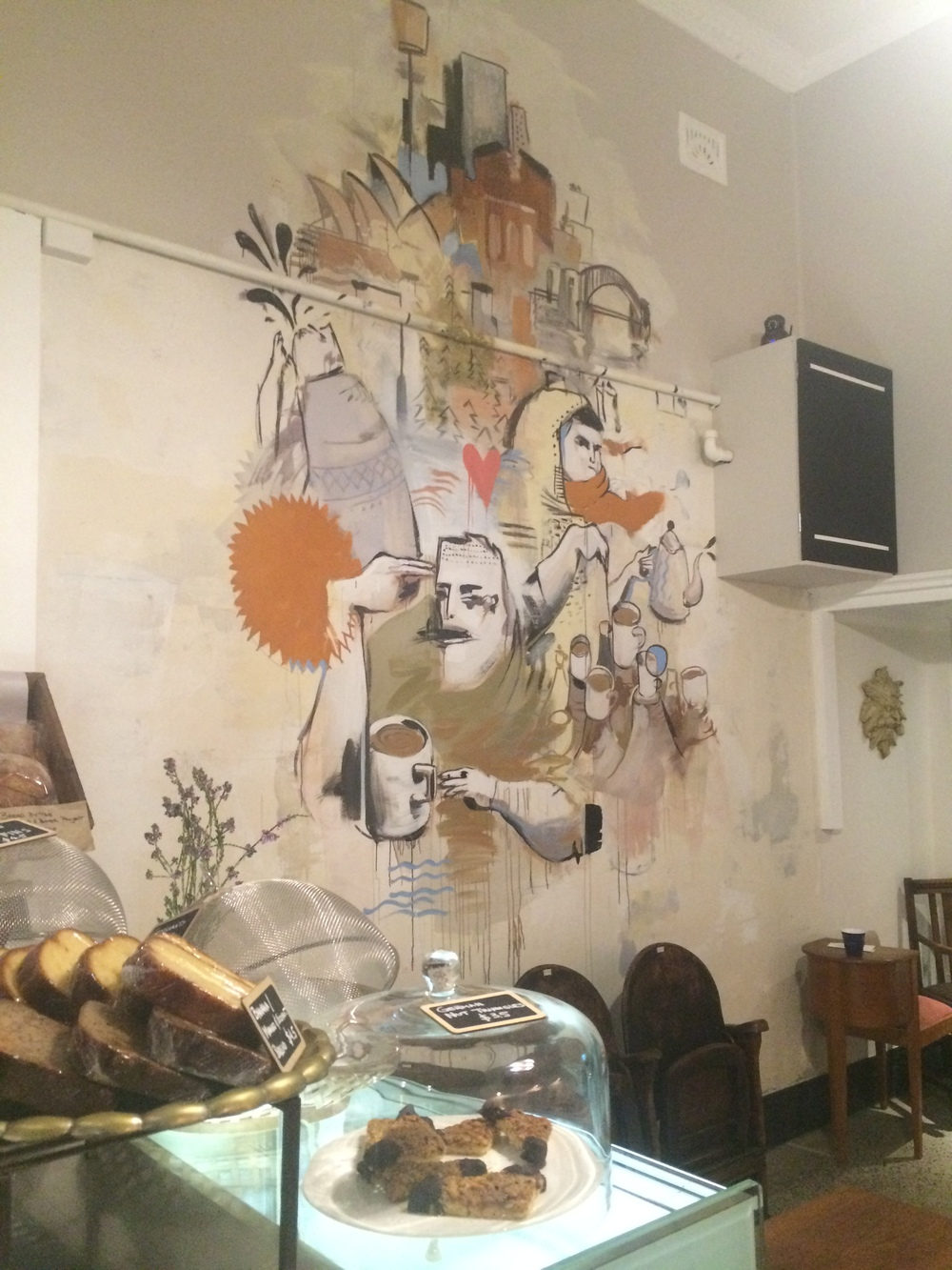 man and his monkey cafe mural 5.JPG