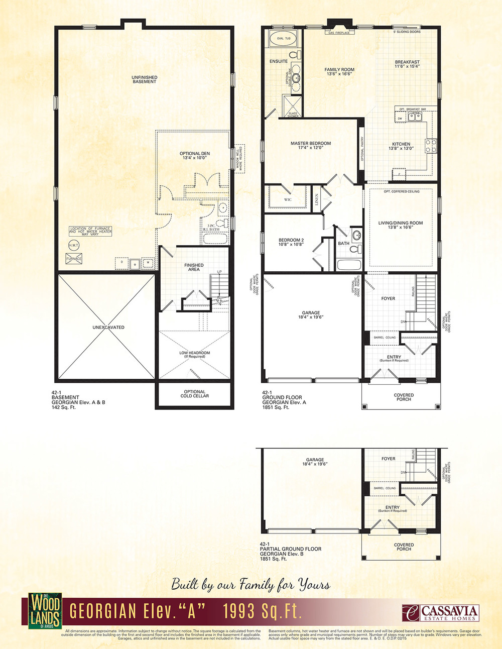 Georgian Floor Plan