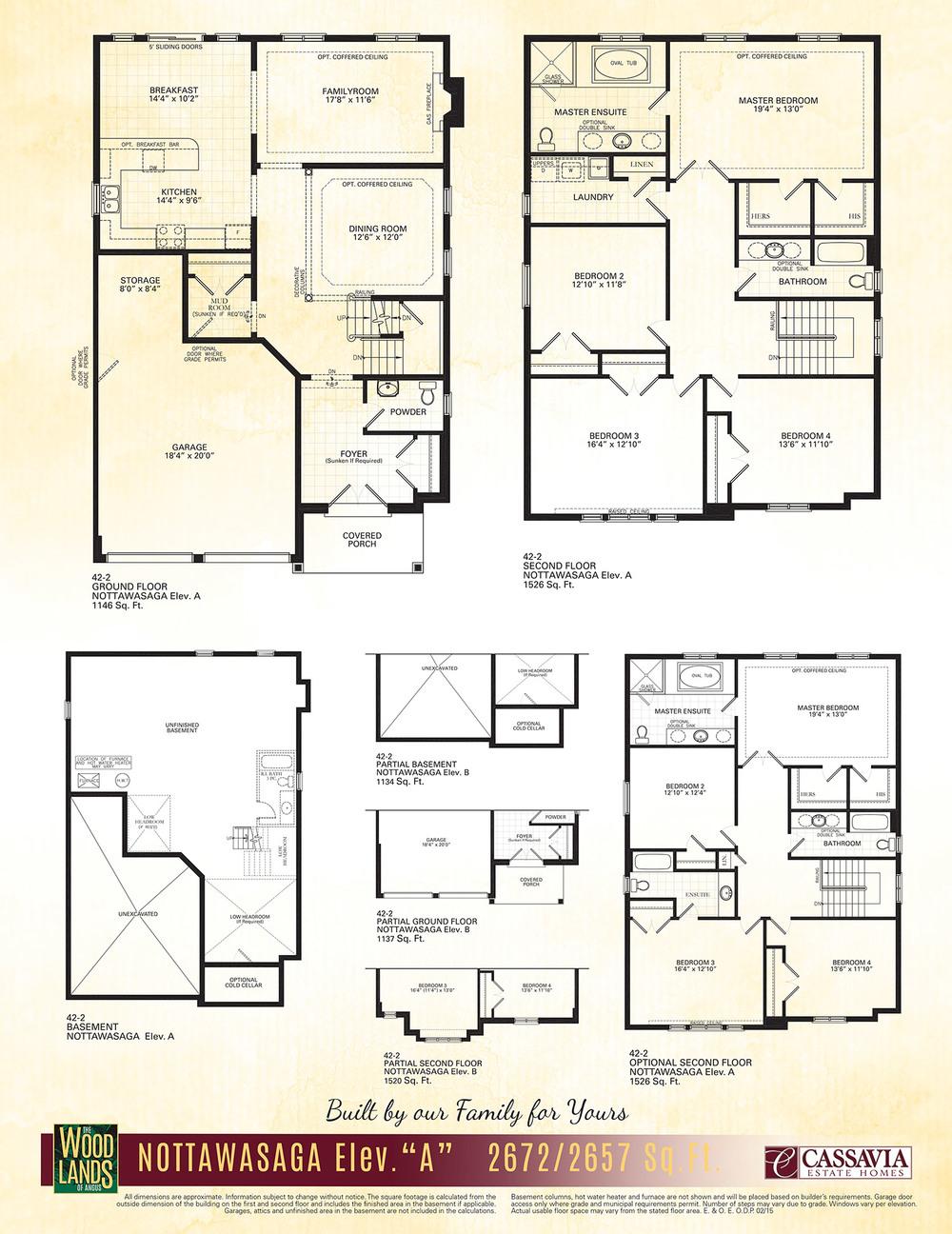 Nottawasaga Floor Plan