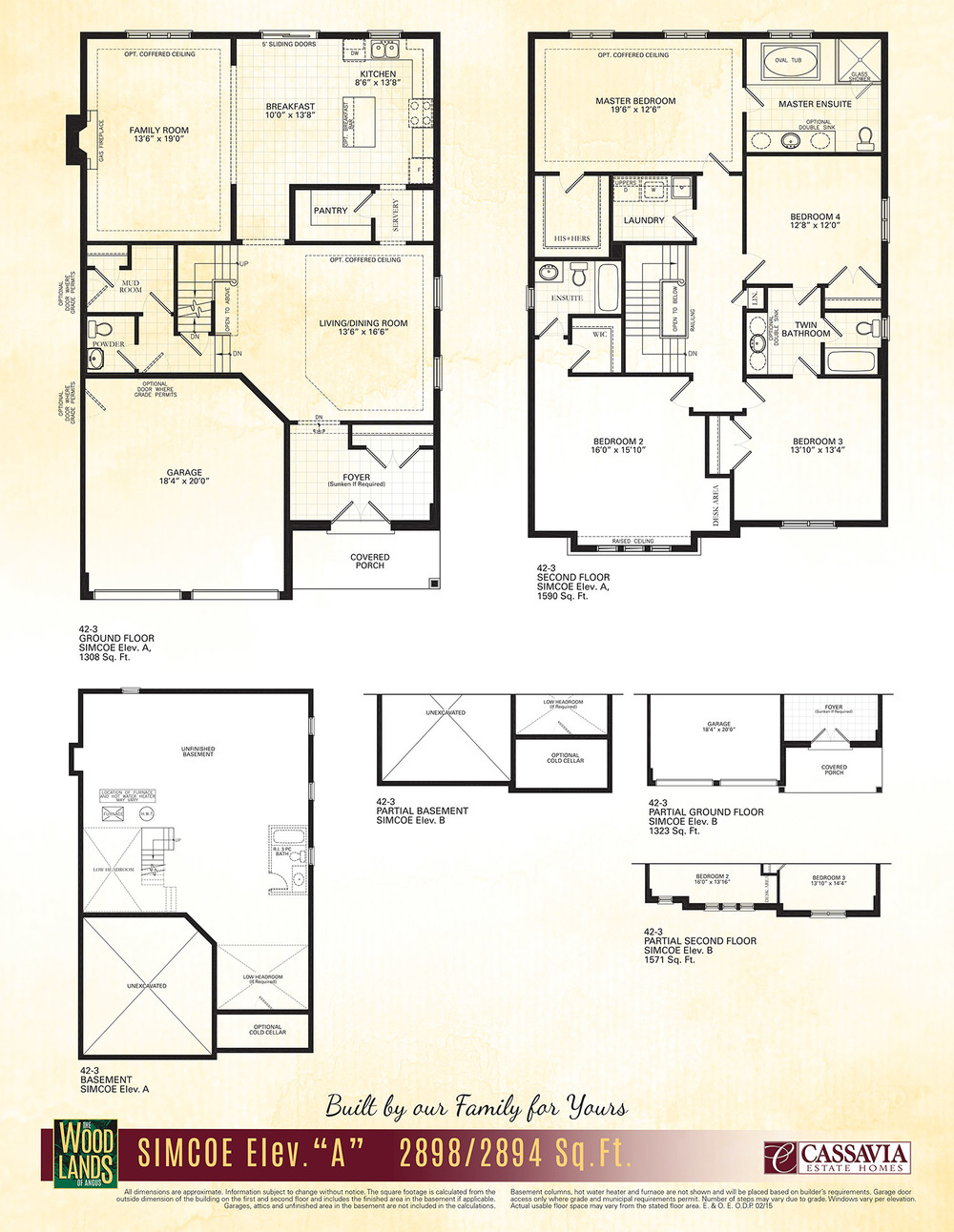 Simcoe Floor Plan