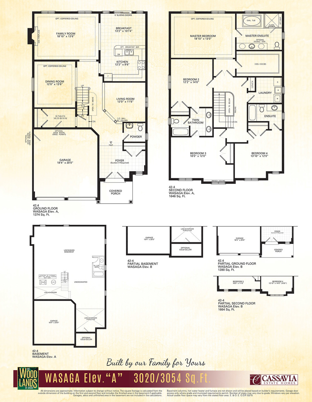 Wasaga Floor Plan
