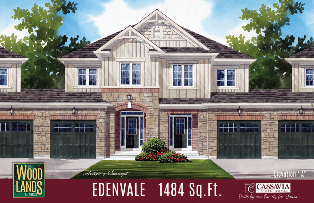 Edenvale Elev. A - 1484 Sq. Ft.