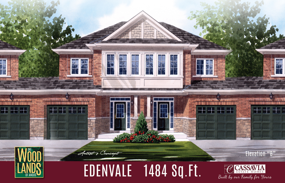 Edenvale Elev. B 1484 Sq. Ft