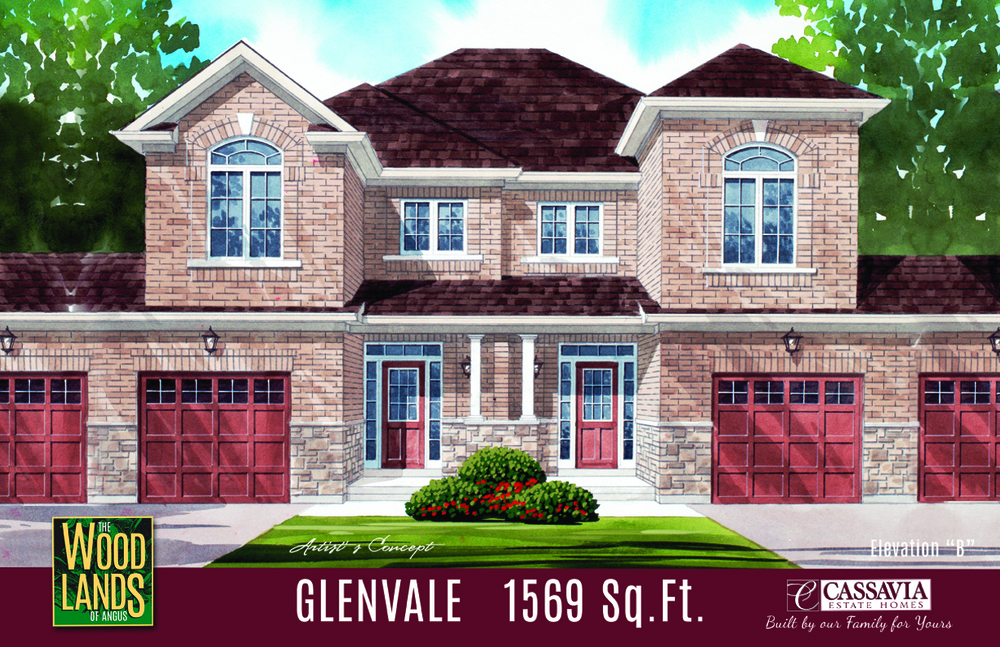 Glenvale Elev. B 1569 Sq. Ft.
