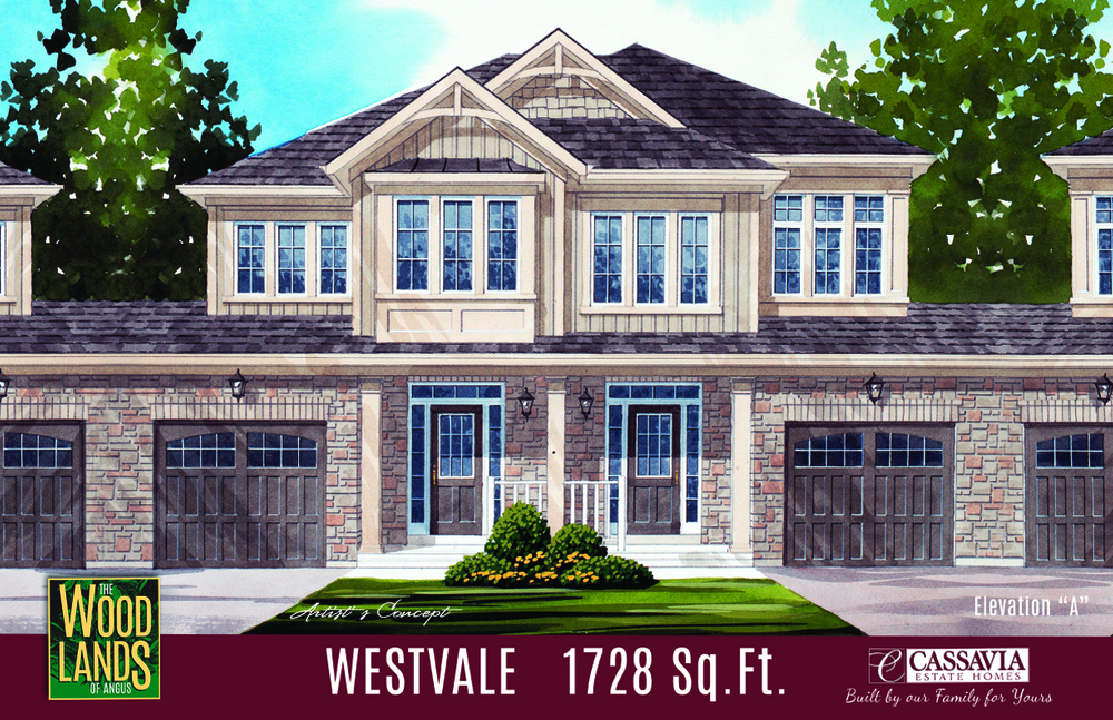 Westvale Elev. A 1728 Sq. Ft.