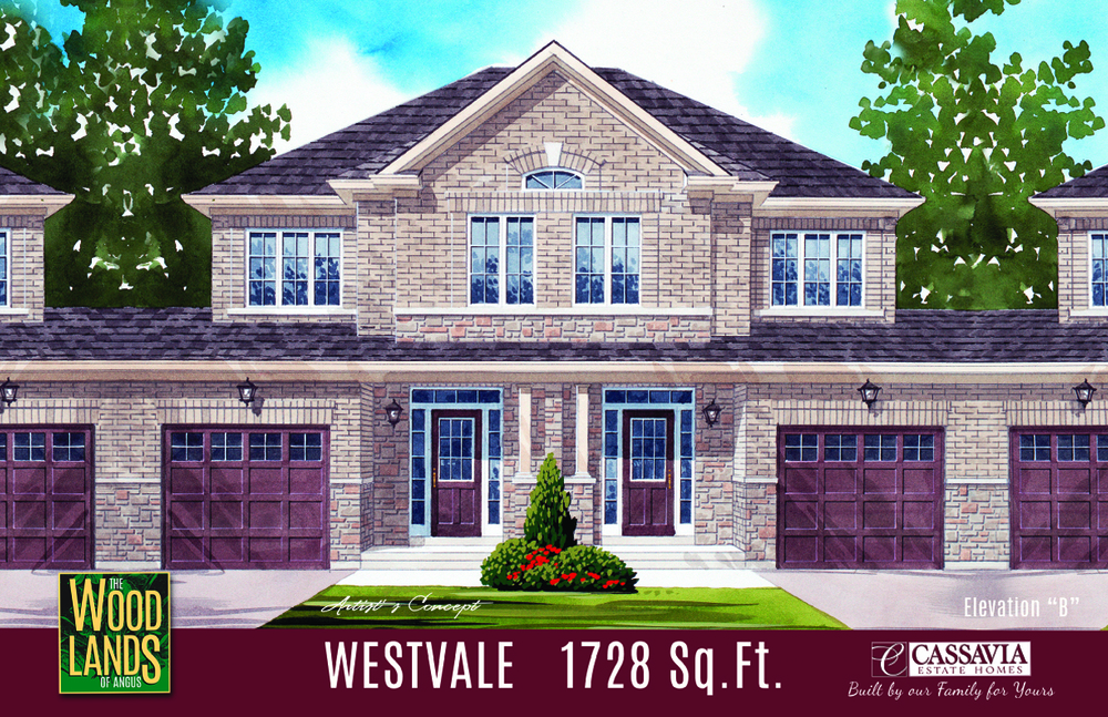Westvale Elev. B 1728 Sq. Ft.