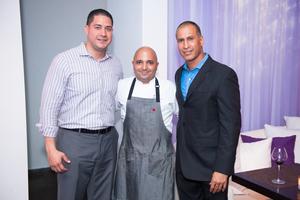 Nelson Mendez, Director de F&B - Chef Raúl Correa - Carlos Rodríguez, GM.jpg