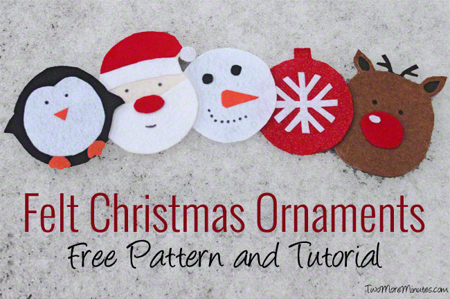 Free pattern and tutorial to make this adorable set of felt coasters ...