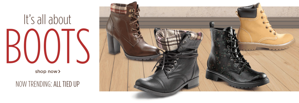 Fall Boots Promotion