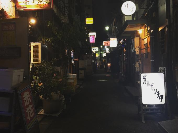 Golden Gai, Shinjuku.