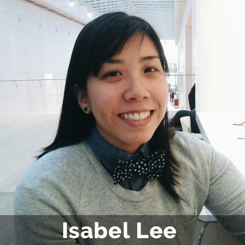 Isabel works with Squarespace sites, content management, copy, social media, and graphic design. More