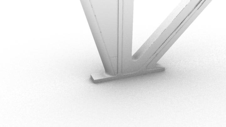 Regular ambient occlusion render.