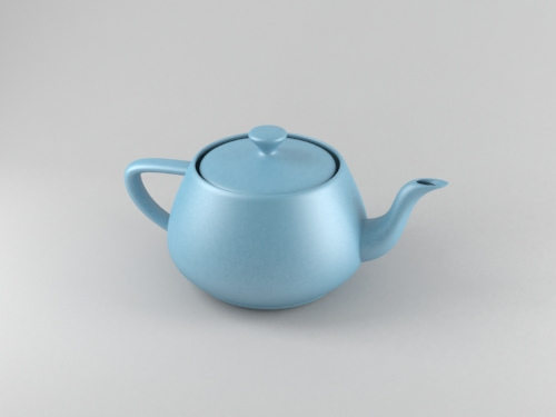 Teapot shader.