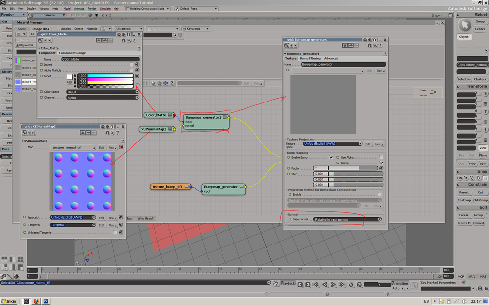 Dealing With Normal Maps In Softimage Xuan Prada - Color map generator