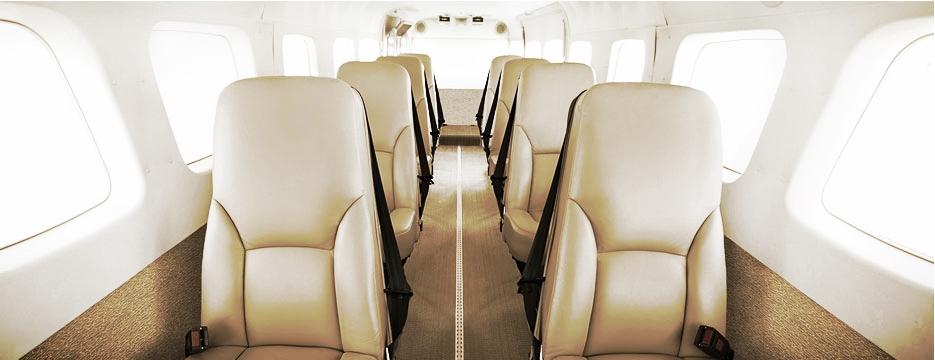 Cessna Caravan Cabin