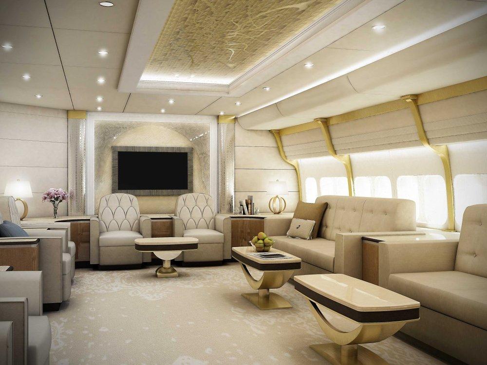 Just a lounge via Burner Air