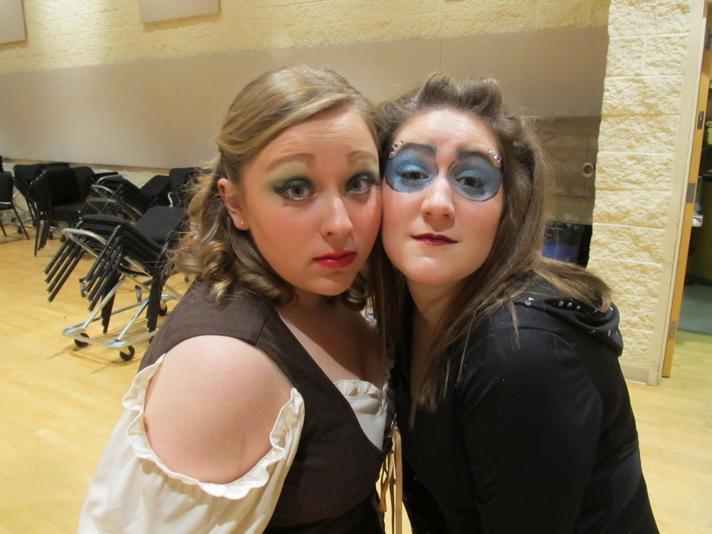 First Lady & Best Roommate Ever, PLU Magic Flute, November 2012