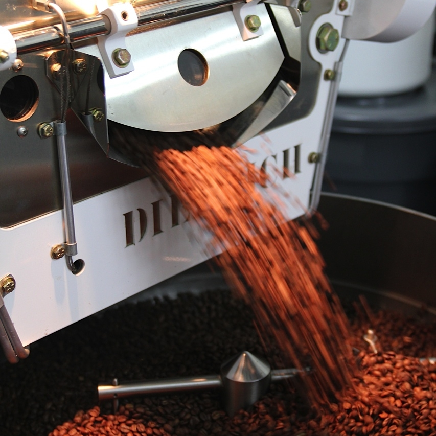 Visit our Roastery