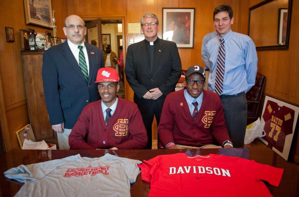 Chris Robinson & Nathan Ekwu signing day