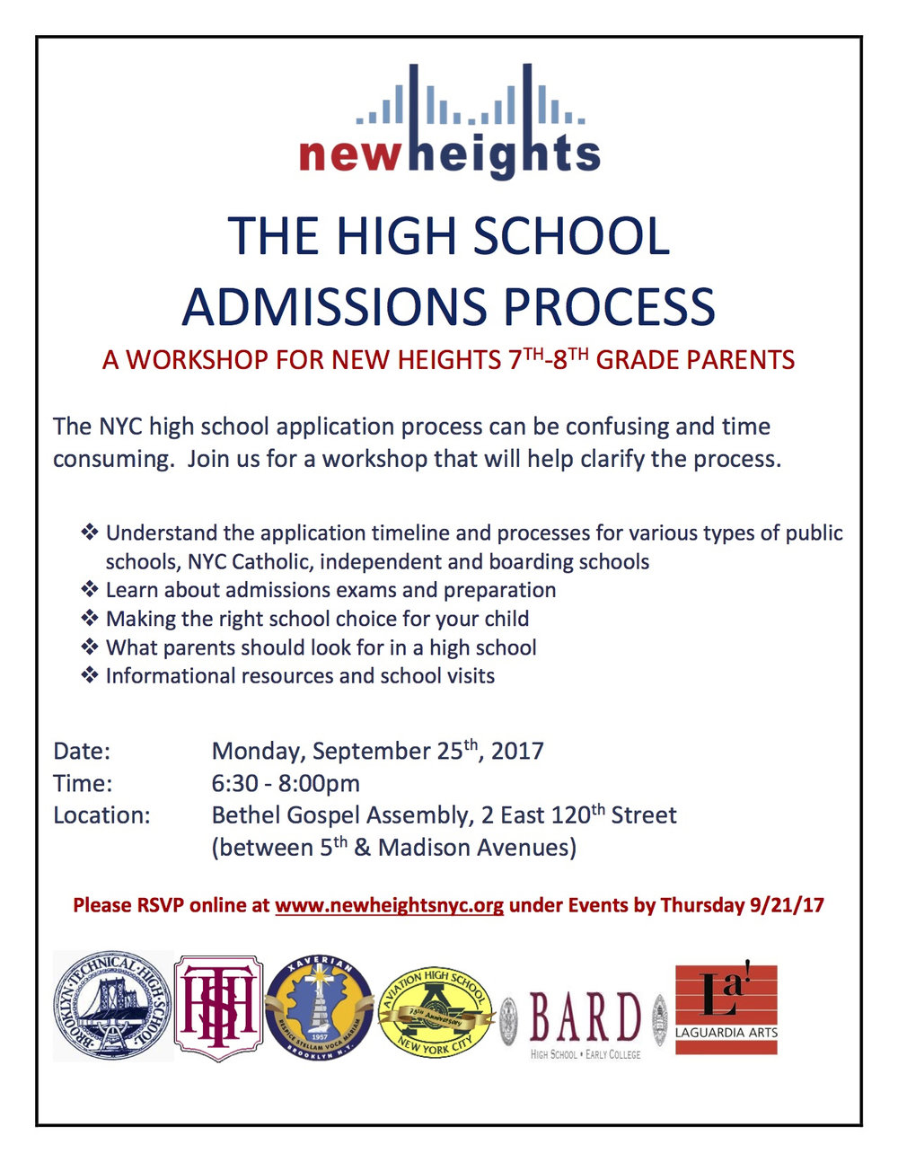 High School Admission Workshop Flyer.jpg