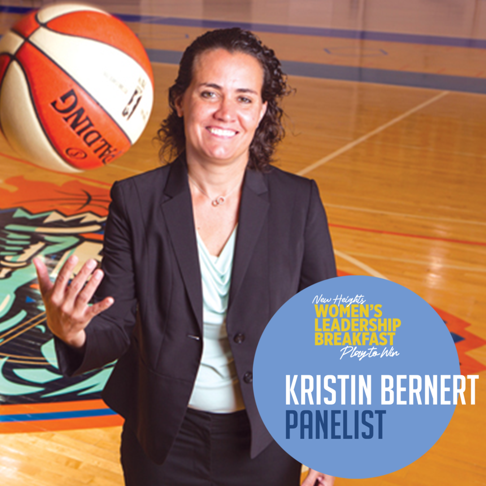 KRISTIN BERNERT  SVP of Business & Basketball Operations, New York Knicks