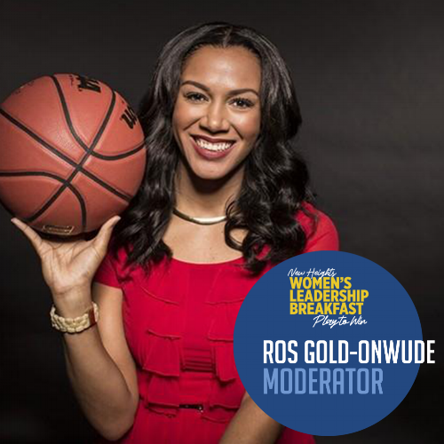 ROS GOLD-ONWUDE  Emmy Award Winning Sportscaster TNT & NBA TV