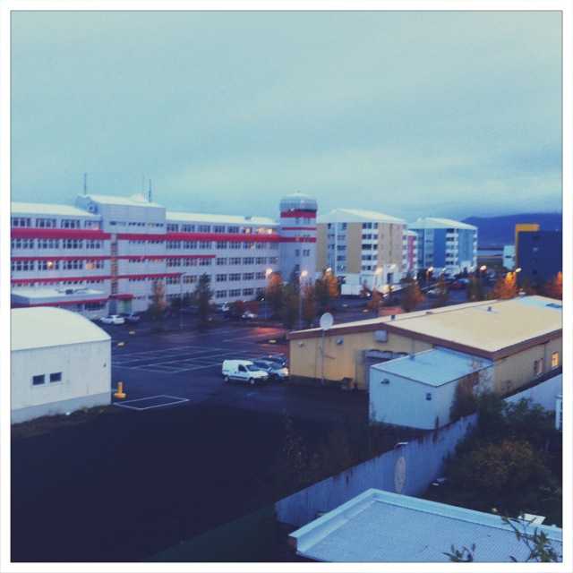 Good morning, Reykjavik.