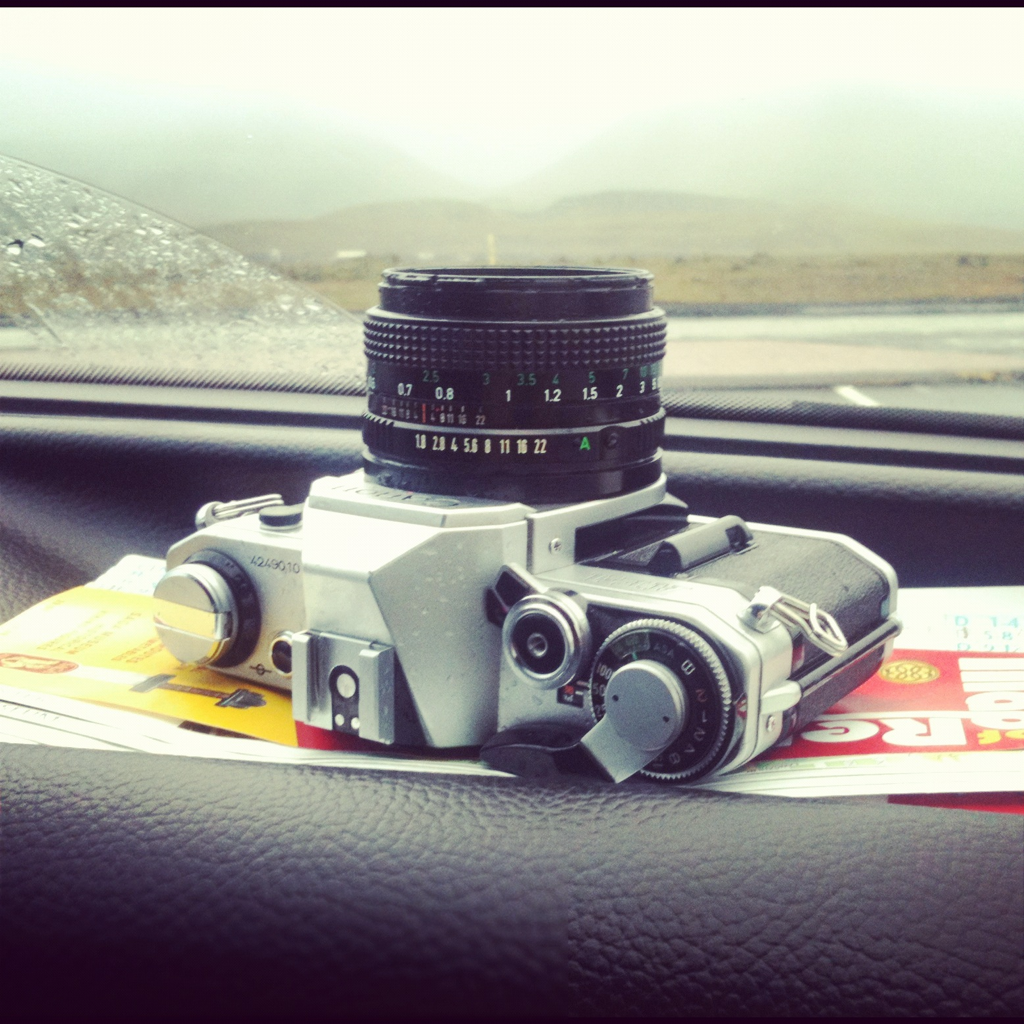 The Canon on the road