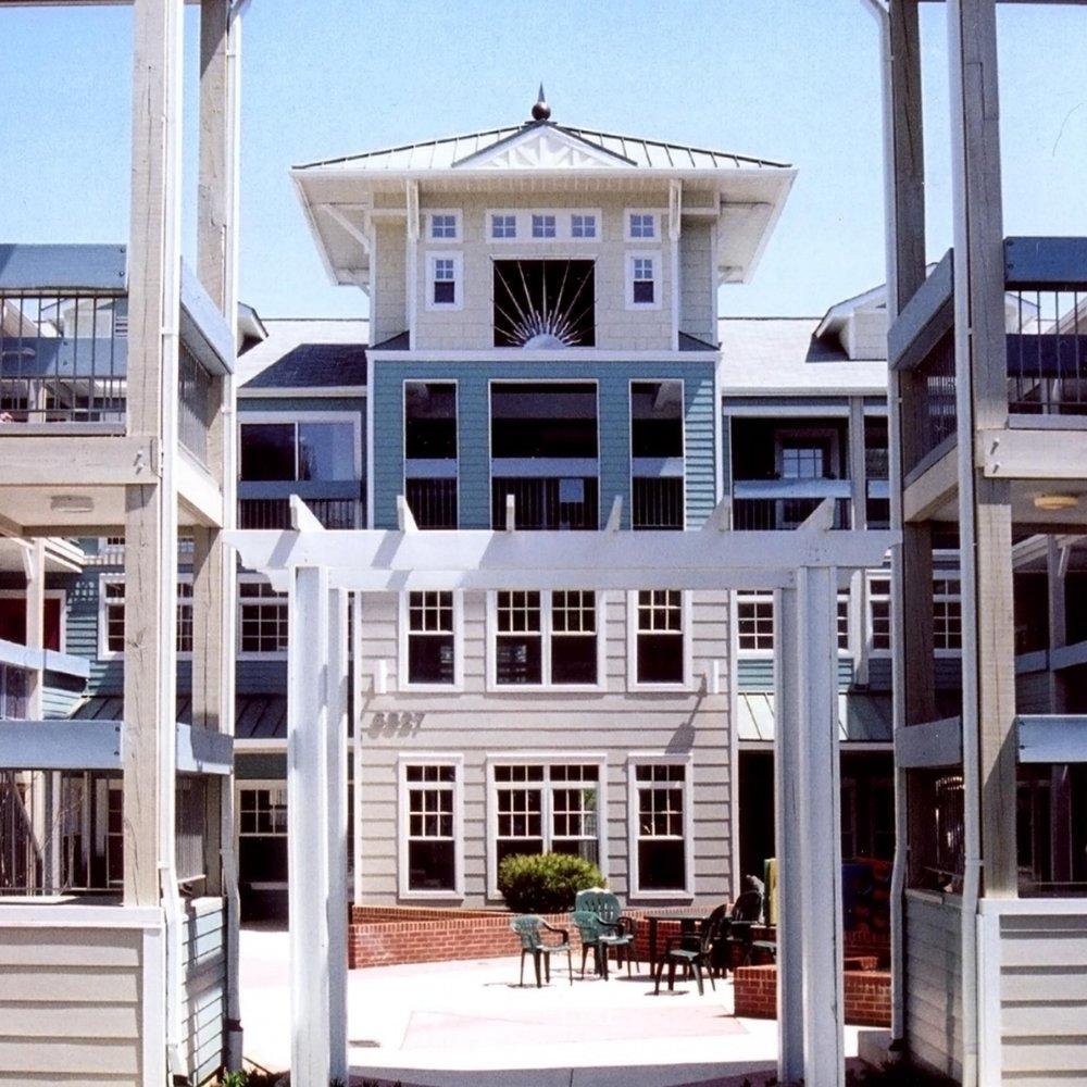 Takoma Village  • 43 cohousing condominiums •Takoma, NW Washington, DC