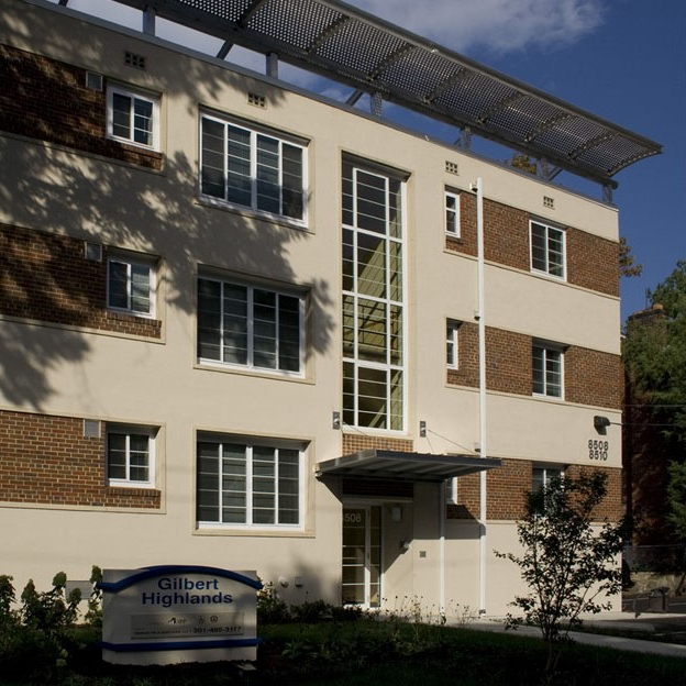 Gilbert Highlands  • Substantial rehab • 21 apartments • Takoma Park, Maryland