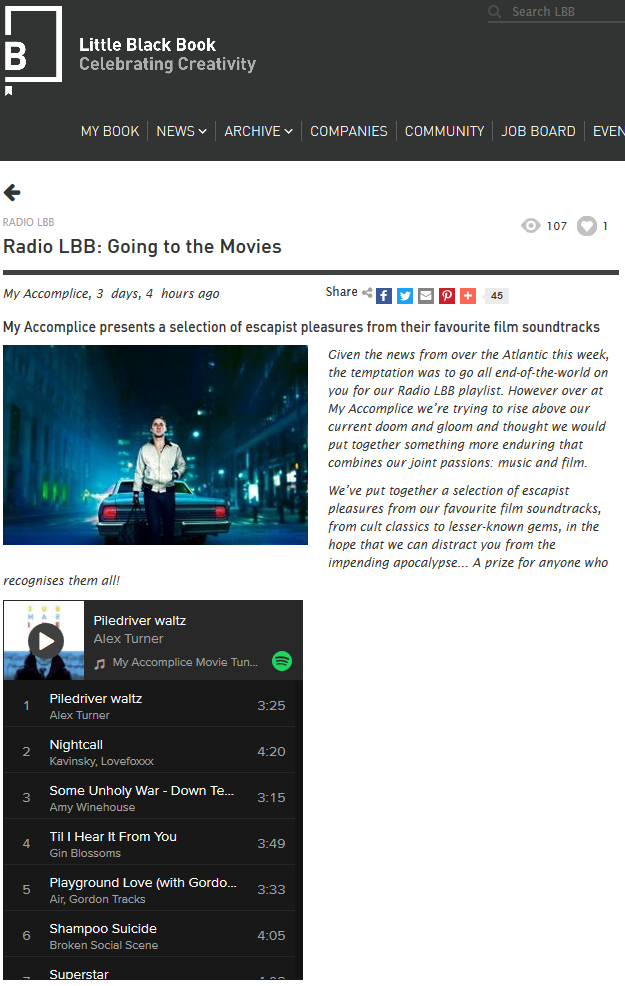 Radio LBB: Going to the Movies