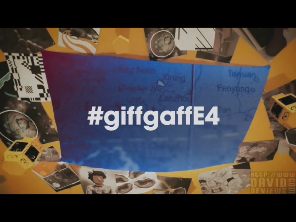 giffgaff: E4 Sponsorship Idents