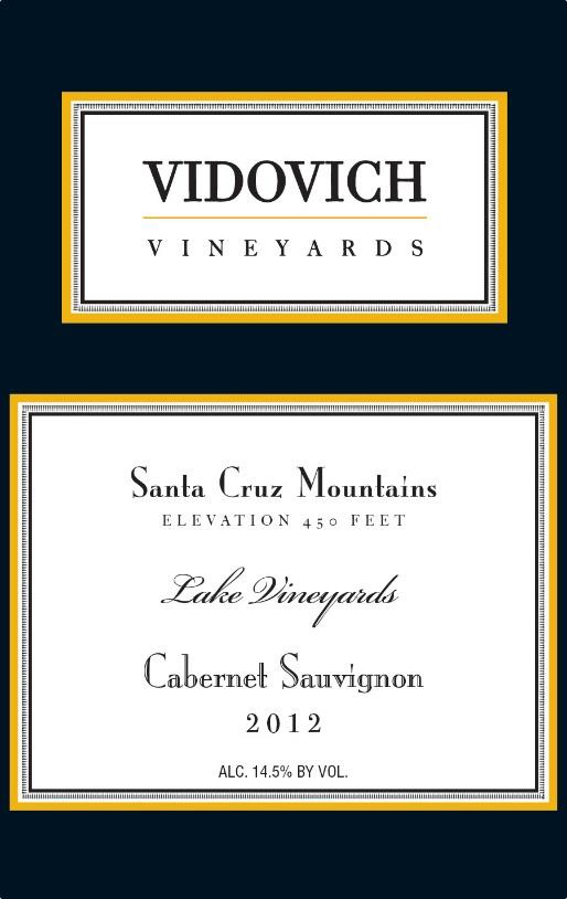 2012 Lake Vineyard Estate Cabernet Sauvignon