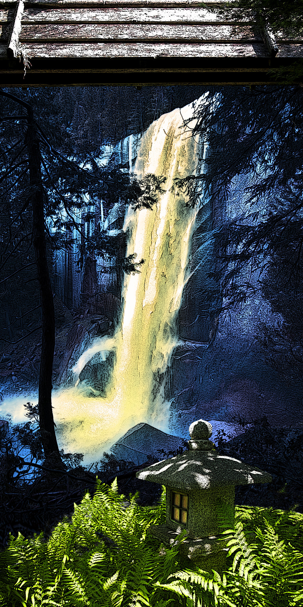 penumbra of vernal fall