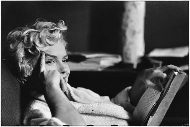 Marilyn Monroe por Elliott Erwitt.