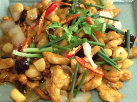 Comida tailandesa.