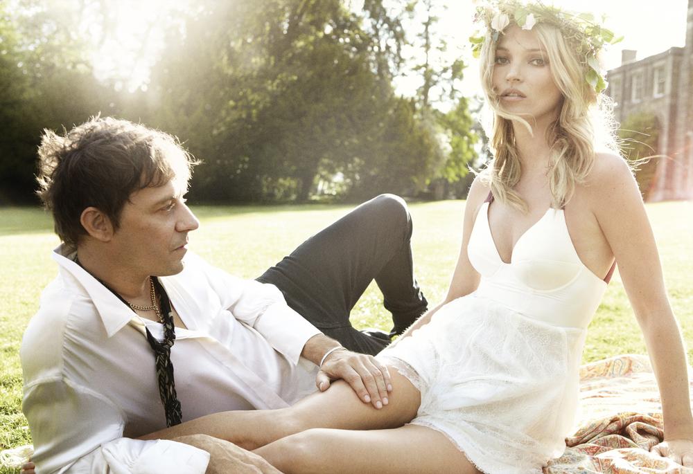 Jamie Hince y Kate Moss.