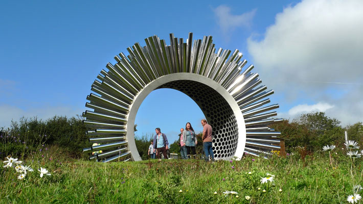 Aeolus, una escultura acústica.