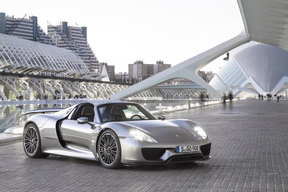 El coche de mis sueños (y de muchos ustedes) Porsche 918 Spyder.