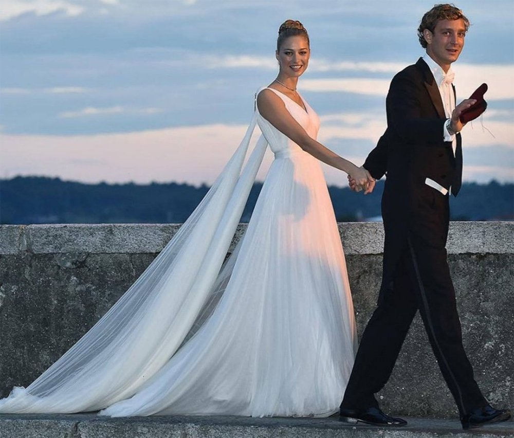 Beatrice Borromeo y Pierre Casiraghi.
