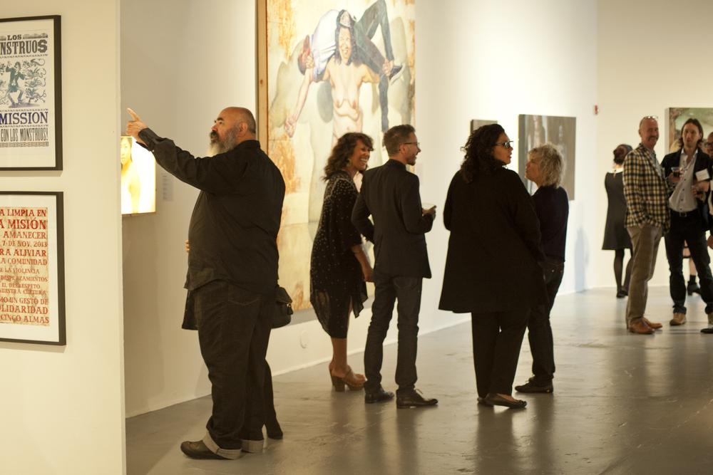 Murphy Cadogan Contemporary Art Exhibition SOMArt's: San Francisco, CA