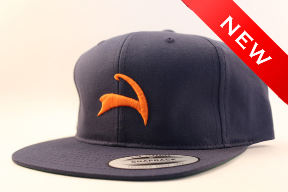 Navy/Orange. On sale at 8am this Sunday.